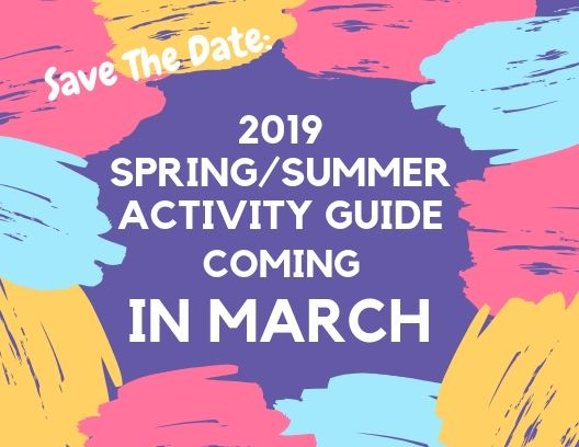 2019 Spring/Summer Activity Guide